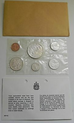 Original Canadian 1961 PL Silver Set