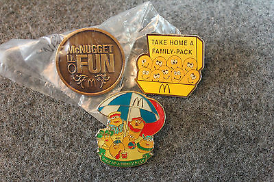 McDonald's Crew McNuggets Pin Collection