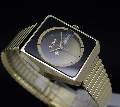 LIMITED OFFER! New Old Stock Rare THERMIDOR automatic vintage watch NOS ETA 2879