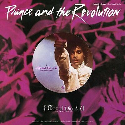 "Prince And The Revolution I Would Die 4 U,Another Vinile Ep 12"" Nuovo Sigillato"