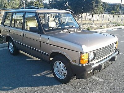 1995 Land Rover Range Rover COUNTY LWB 1 OWNR 1995 LAND ROVER RANGE ROVER COUNTY LWB 164K ORIG MILES RUST FREE CLASSIC