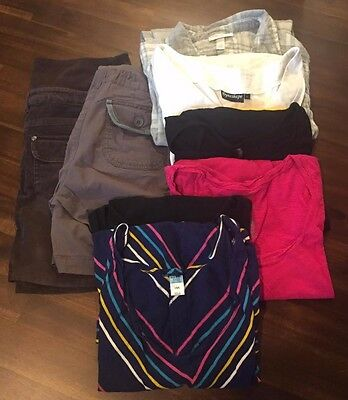 Lot Of 5 WOMEN'S Maternity Jeans size large Motherhood Oh Baby american star