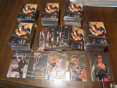 Rare Lot Of 6 1994 Wwf Action Packed Sets Andre Macho Man Hbk Diesel Owen Free