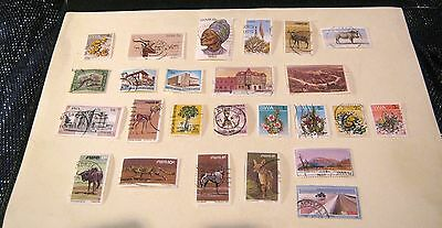 Small collection of Namibia (South West Africa) Stamps 25 total good selection