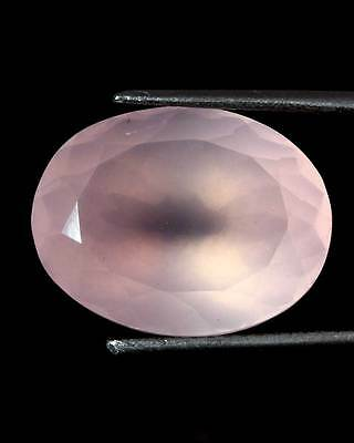 19.05Cts Natural Baby Pink Rose Quartz Oval Cabochon Quality Gemstone Brazil