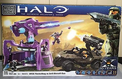 Mega Bloks Halo 96923 UNSC Rockethog Vs Anti Aircraft Gun