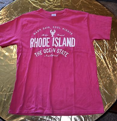 Rhode Island The Ocean State T Shirt Large