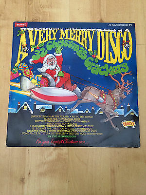 A Very Merry Disco - By The Sleighriders (Vinyl LP) NM/EX