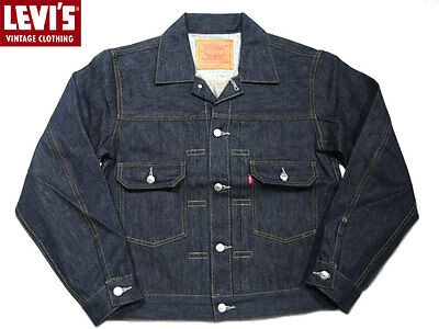 Levis 507 Denim Jacket 1953 Type Ii Vintage Clothing New With Tags