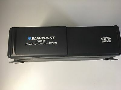 PORSCHE Black Blaupunkt CDC - m7 compact disc changer car CD changer.