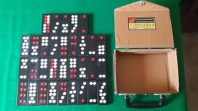 32 USED SAND'S  HOTEL AND CASINO  LAS VEGAS Pai Gow Tiles Set + CASE.