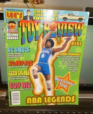 LEE'S TOY REVIEW MAGAZINE MAY 2005 #151 - McFARLANE TOYS / NBA / SESAME STREET+