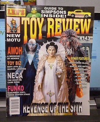Lee's Toy Review Magazine Sept 2004 #143 - Revenge Of The Sith / Motu / Funko +
