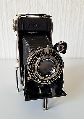Vintage 1950'S Agfa Prontor Ii Folding Camera