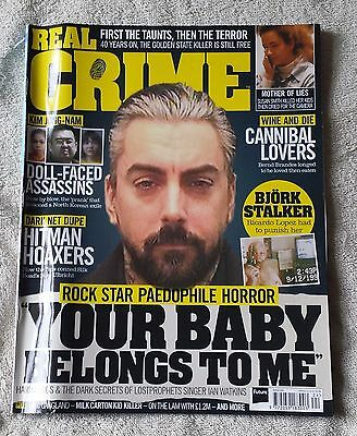 REAL CRIME MAGAZINE May 2017 Issue 024 Detective Murder Police Criminal Justice