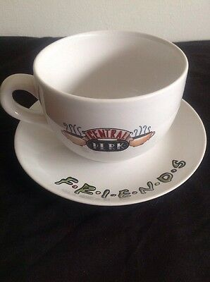 Friends Central Perk Cup And Saucer
