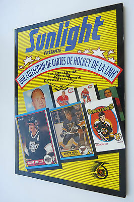 Sunlight Hockey Price Guide in French Rare magazine with hockey history 1992