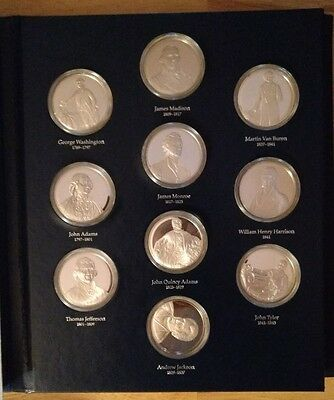 The Official Presidential Portraits The National Historical Society Coin Set