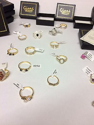 Job Lot Wholesale Of 10 items Giani Jewellery random mix rings & earrings New -