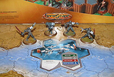 Damaged Card Gladiatrons Wave 4 Zanafor's Discovery Heroscape D&D minis
