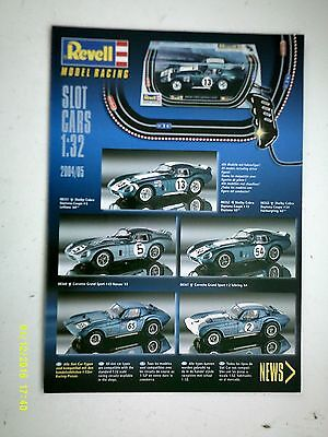 Scalextric 2004/5 Revell Slot car Catalogue/Leaflet Mint Condition