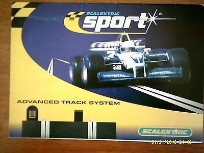 Scalextric Sport Track Plans Mint Unused Condition F1 Tracks & More