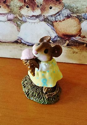 "Wee Forest Folk # M-277 ""Yummy"" Yellow w/cancer Ribbon CURIO SP EDTN 2005 MINT"