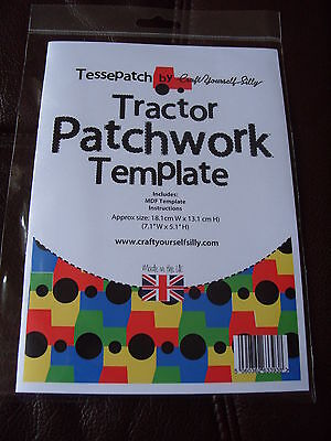 Tessepatch Tractor Patchwork Template