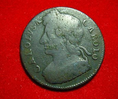 Charles II Half Penny - 17th century coin