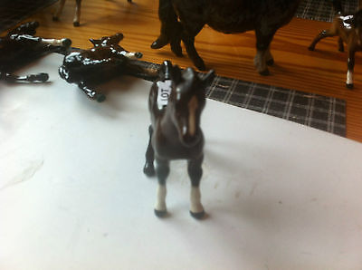 Beswick Horses  Young Shire Horse Has Large Mane And Thick Legs  441 E