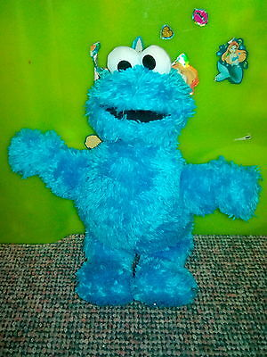 """Sesame Street/The Furchester Hotel Genuine Plush 10"""" Soft Toy Cookie Monster"""