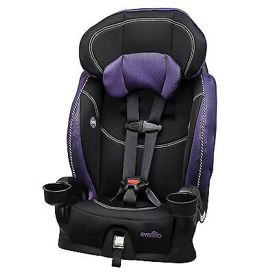Convertible LX Harnessed Booster Safety Toddler Baby Car Seat Jasmin by Evenflo