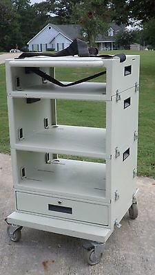 Mobile Endoscopy Video Cart Tower