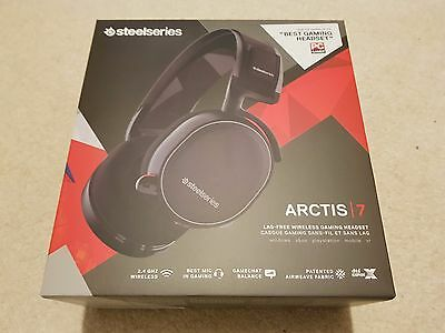 SteelSeries Arctis 7 Gaming Headset, Wireless 7.1 - BRAND NEW, SEALED BOX