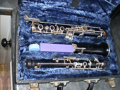 Oboe student wooden model by Buisson .