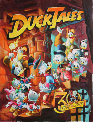 Disney D23 Expo 2017 DuckTales 30 Years Old and New Mike Peraza Deluxe Print
