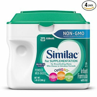 Similac For Supplementation Non-GMO Infant Formula with Iron, Powder, 23.2 Ounce