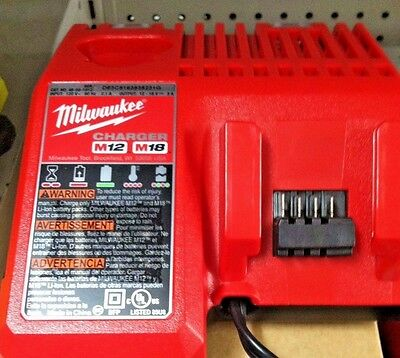 Milwaukee 48-59-1812 M12 and M18 Multi-Voltage Li-Ion Battery Charger