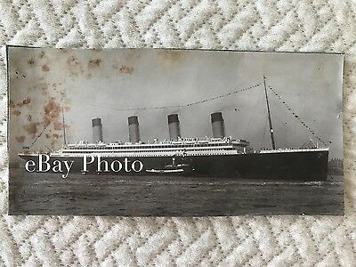 RMS Olympic Real Photo in Liverpool, June, 1911 / White Star Line / Titanic