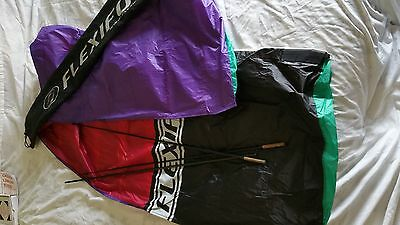 Flexifoil 10ft Kite Purple and Red Power Kite