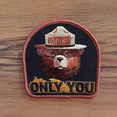 2011 Smokey the Bear US Forest Service Fire Fighter Patch ONLY YOU Embroidered