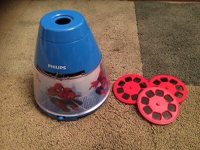 Philips Marvel Spider Man Children's Night Light And Projector Integrated LED