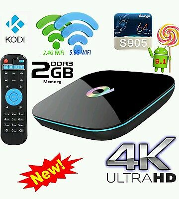 Q android tv box 2gb ram kodi17.1