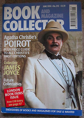 Book  and Magazine Collector Number 243 June 2004 Agatha Christie's Poirot