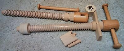 """Moxon Vise Kit 18"""" (468 mm) made of solid beech."""