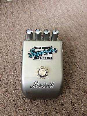 Marshall SV-1 Supervibe Chorus effects pedal. Discontinued/Rare