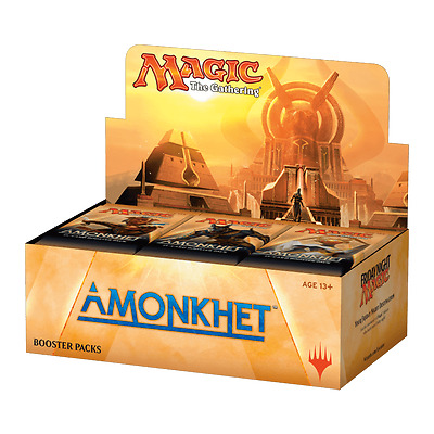 Wizards of The Coast - Magic The Gathering- Amonkhet Boosters