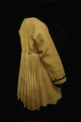 Antique Ukrainian White Wool ladies Coat - Svitka museum rarity Chernigyv area