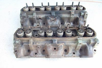 2-1972 Pontiac Cylinder Heads 350 Matching (C-13-2)   7H1 Heads 350 Or 400