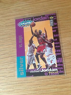 Michael Jordan Upper Deck Insert NBA Basketball Trading Card Vintage